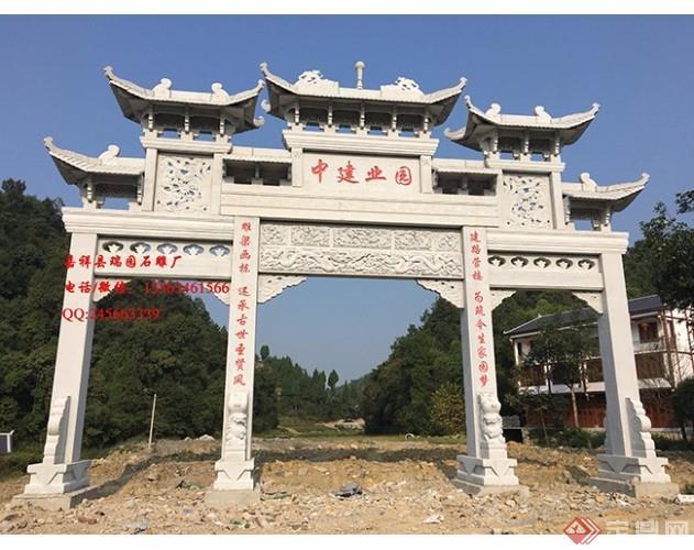 其作用是当做一个村庄的门面,也相当于村里的大门,在农村具有极高的