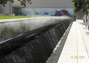 某水池水景设计cad方案及实景图