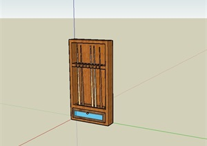 6个室内用品设计SU(草图大师)模型