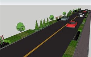 公路两侧绿化