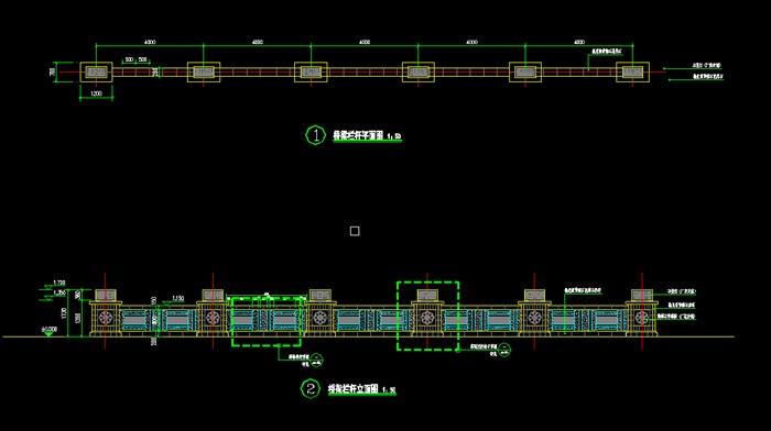 某现代石材栏杆v石材cad施工图[原创]2008cad版官方迷你图片