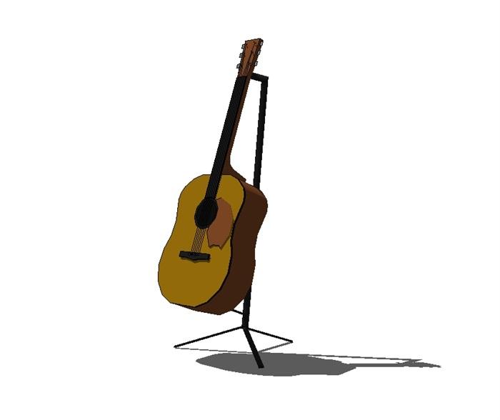 18种不同的乐器设计su模型[原创]