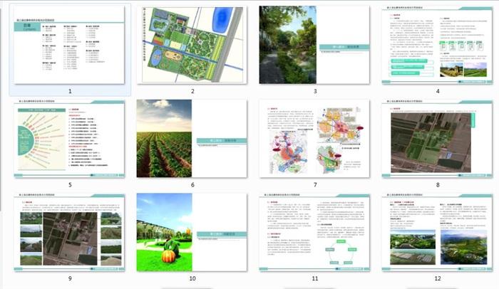 休闲农业观光示范园规划(1)