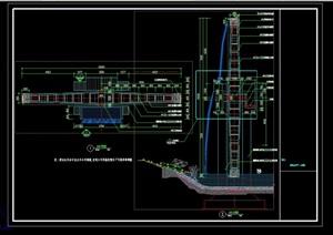 景观水车详细设计cad施工详图