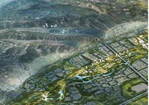 河湟高城-多巴新城概念规划和总体城市设计pdf方案高清文本