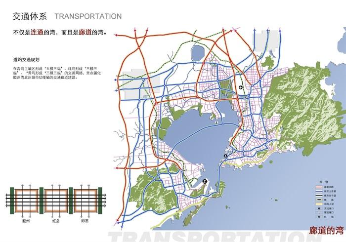 青岛环胶州湾核心圈层概念规划与城市设计方案高清文本[原创]