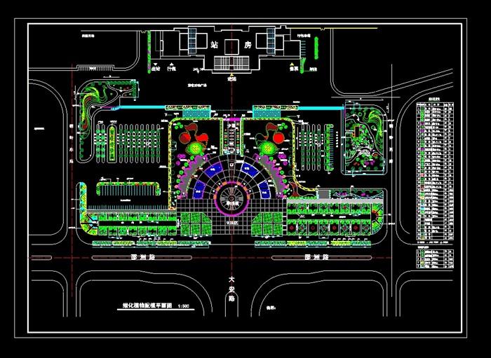 火車站廣場廣場廣場景觀廣場規劃廣場設計廣場綠化 資料附件目錄: 某
