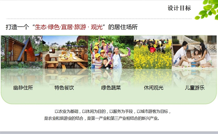 生态农庄ppt文本(2)