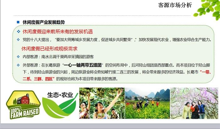 生态农庄ppt文本(3)