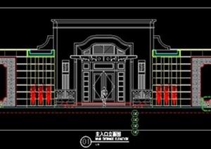主入口大门设计方案图