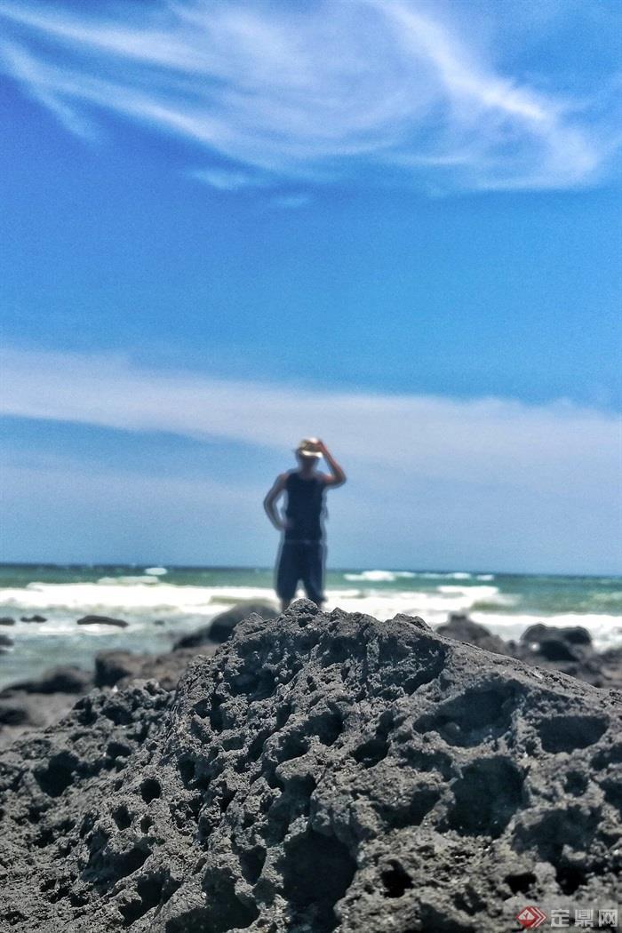 大海,滨海景观