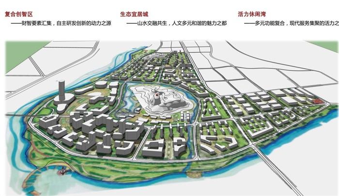 安徽霍山科技园城市设计pdf方案