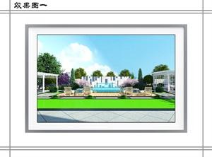 2-3栋别墅景观设计