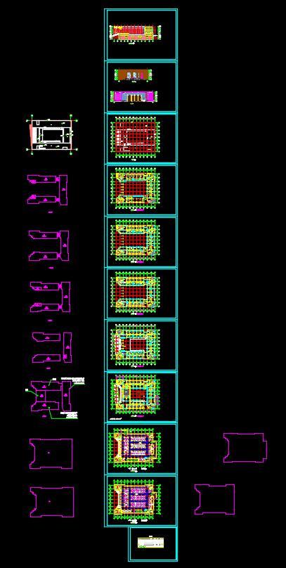 某高校行政办公楼建筑设计方案(3)
