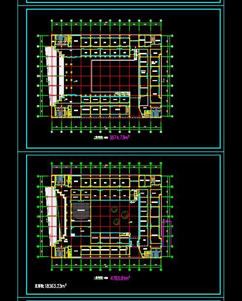 某高校行政办公楼建筑设计方案(4)