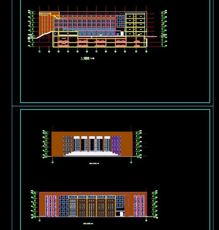 某高校行政办公楼建筑设计方案(5)