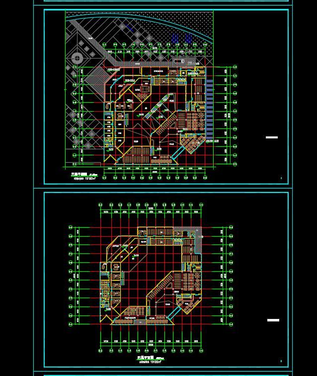 某高校图书馆建筑设计方案(2)