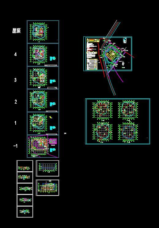 某会所建筑设计方案(含效果图)