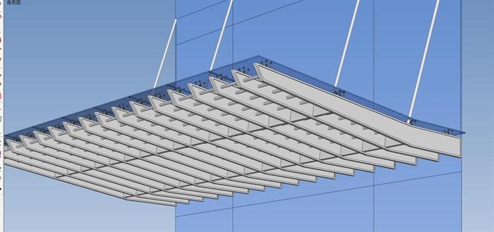欧式雨棚模型下载_办公楼入口雨棚设计su模型[原创]
