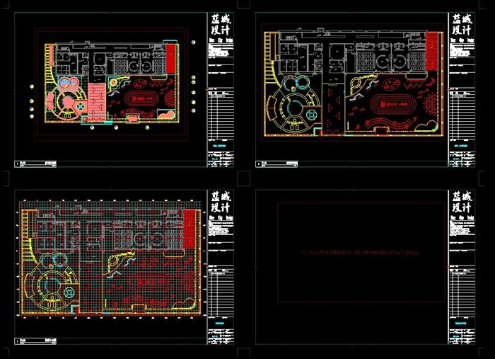 翠湖幼儿园设计jpg文本、cad施工图及效果图(6)