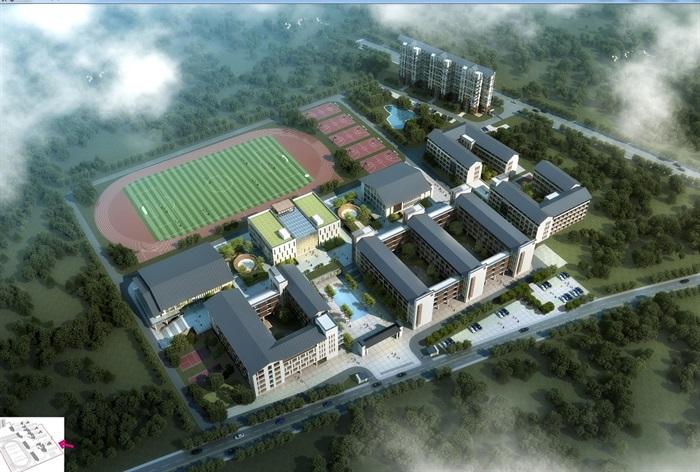 阳华中学规划设计设计jpg方案(1)