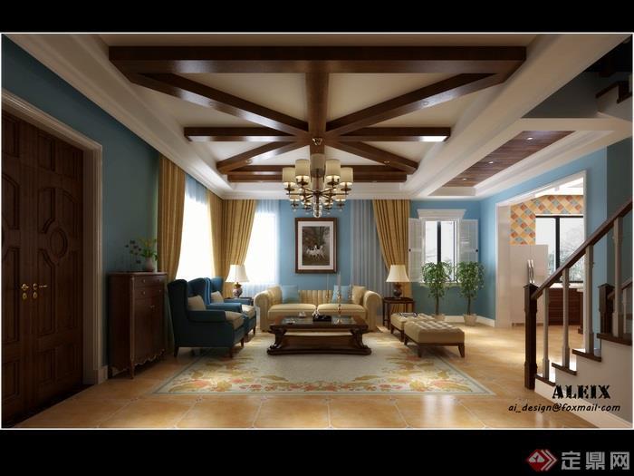 客厅,客厅沙发,客厅装饰,客厅室内,吊灯
