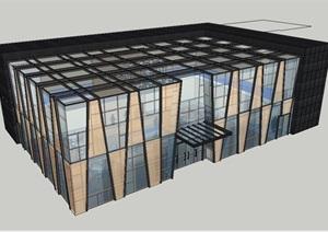 售楼部建筑SU(草图大师)模型
