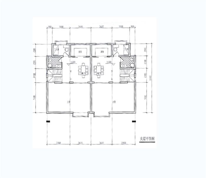 某欧式双拼别墅设计jpg方案及效果图[原创]