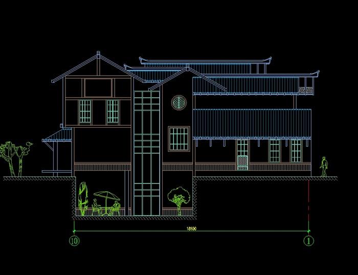 日式别墅建筑设计cad方案图,图纸为日式风格,可直接下载用于相关方案设计使用,具有很好的使用价值,欢迎下载。