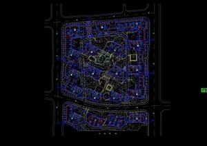 某现代住宅小区水电cad施工图