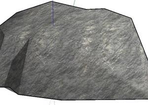 景观设计常用景观石头合集SU(草图大师)文件