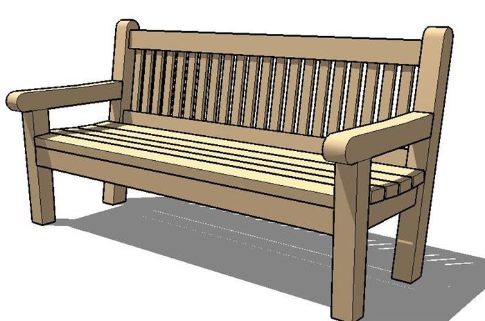 景观钱柜娱乐常用桌椅长凳素材su模型集合[原创]