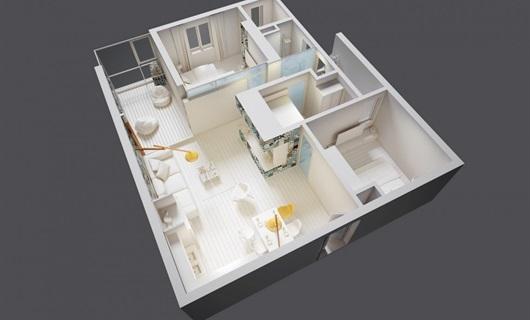 融创高科简约日式风家装设计项目施工工程