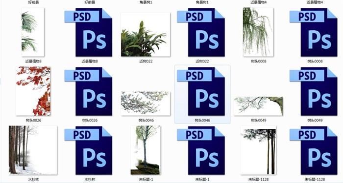 树木精品前景(3)