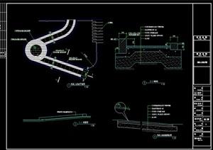 残疾人坡道设计cad施工图