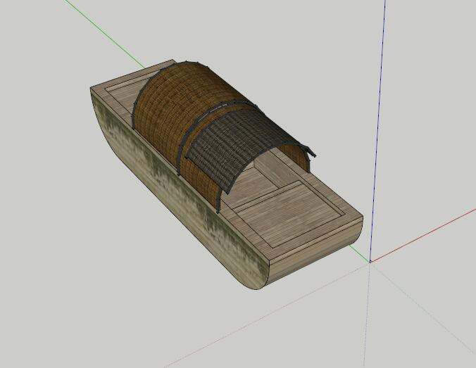 某船只设计su模型