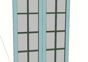 某室内窗户设计SU(草图大师)模型