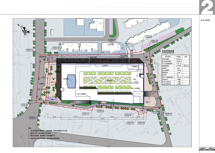 某现代商业广场综合体建筑全套jpg方案文本