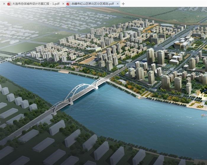 赤峰市红山区桥北区分区规划设计pdf方案(1)
