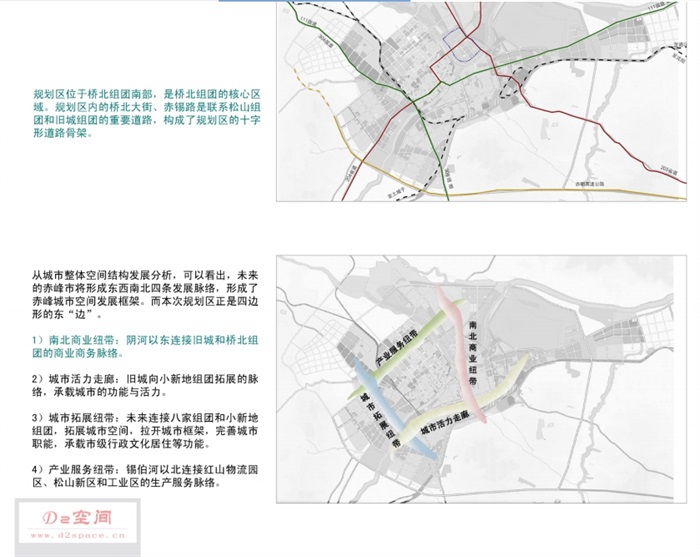 赤峰市红山区桥北区分区规划设计pdf方案(6)