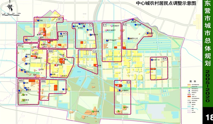 东营市电子地图