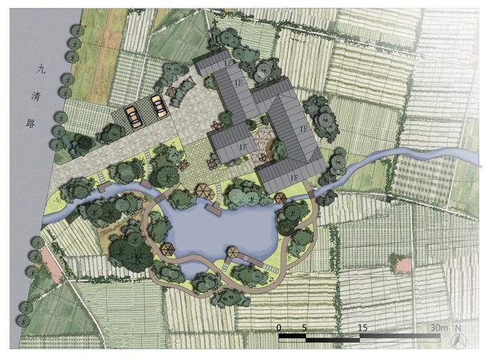 成都成就方案v成就周边景观设计psd攻略图[原创]剑三快速村落民宿图片