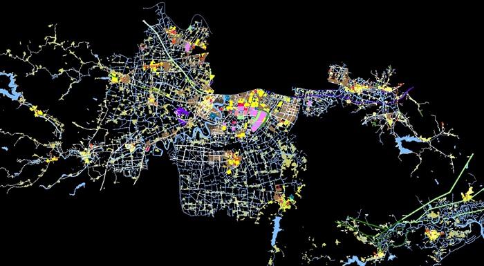 宁波市鄞州区空间城乡方案v空间jpg布局及cad方m10螺钉cad图纸图片