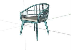 现代室内座椅设计SU(草图大师)模型