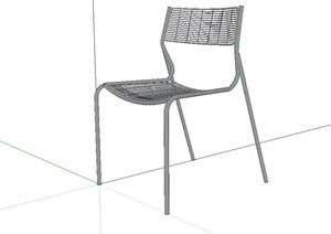 室内铁艺座椅设计SU(草图大师)模型