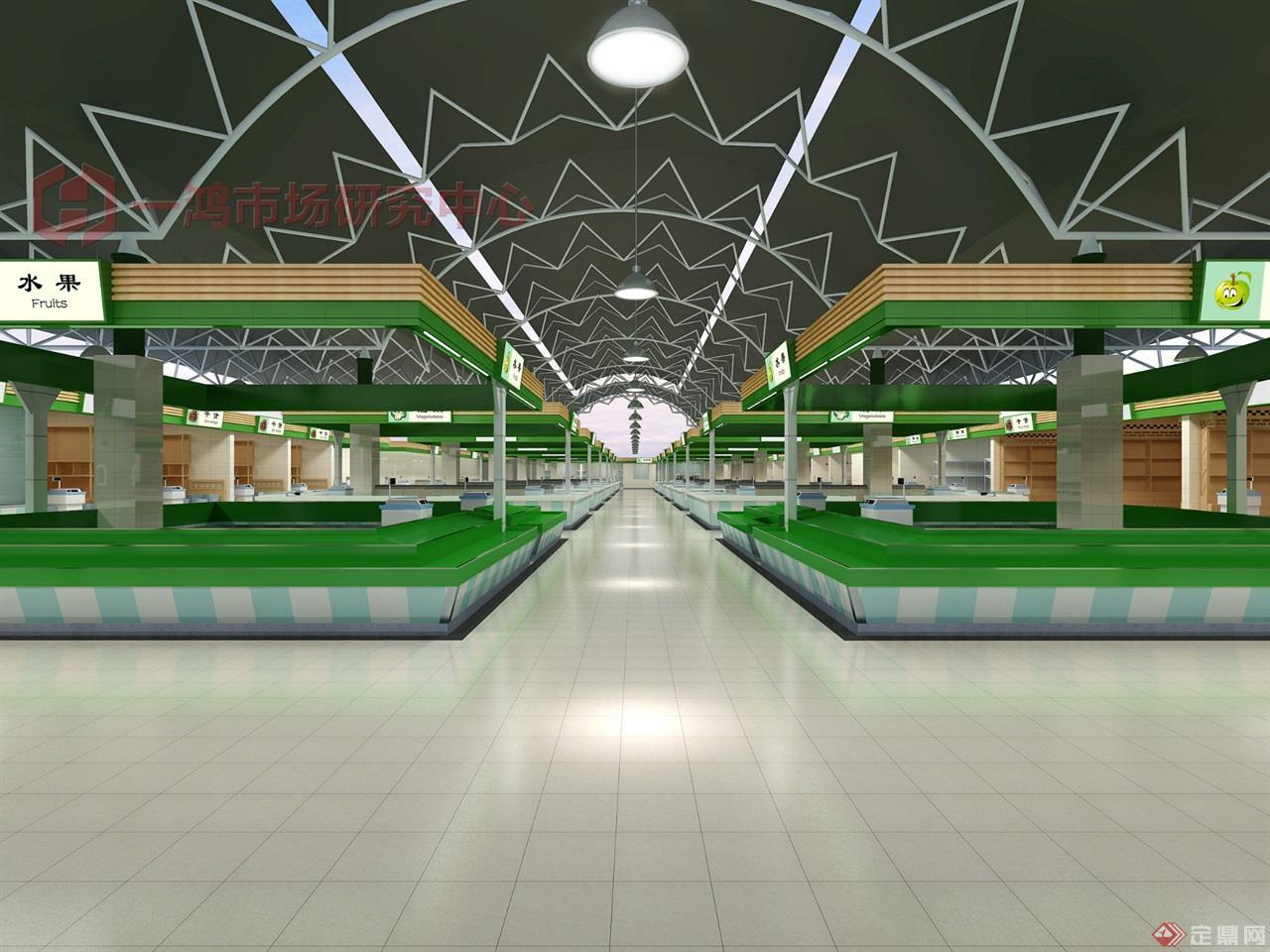 扬州农贸市场设计