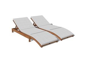 园林景观双人躺椅SU(草图大师)模型