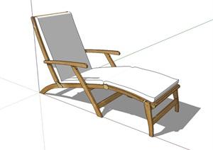 休闲沙发躺椅SU(草图大师)模型