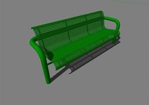 园林景观独特的座椅SU(草图大师)模型