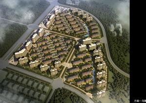 骊山下的住宅小区规划详细设计ppt方案